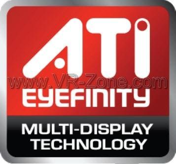 ATi'den Eyefinity teknolojisi; Radeon HD 5800 serisi ile 3 monitör kullanılabilecek