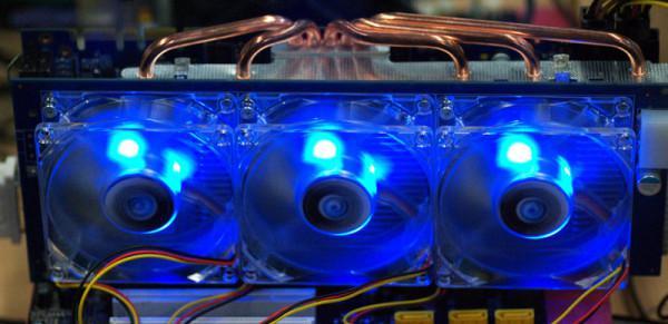 Galaxy'den yüksek performanslı ekran kartları için özel soğutucu; Fan Card