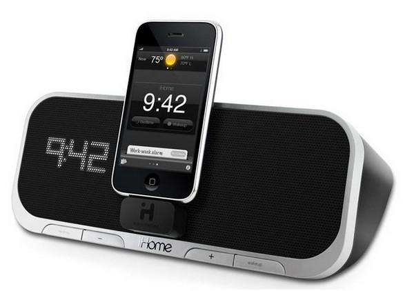 iHome Audio, iA5 iPod Dock hoparlörünü duyurdu