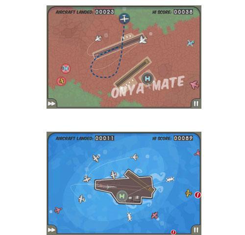iPhone OS'in en sevilen oyunlarından Flight Control, 2 milyonluk indirilme barajını aştı