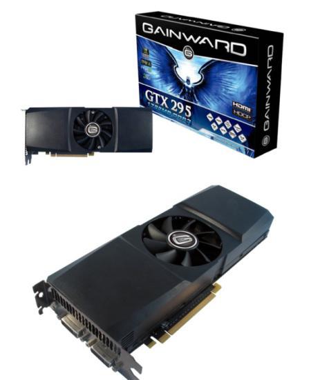 Gainward tek PCB'li GeForce GTX 295 modelini duyurdu