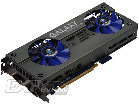 Galaxy çift GPU'lu GeForce GTS 250 X2 modelini satışa sunuyor