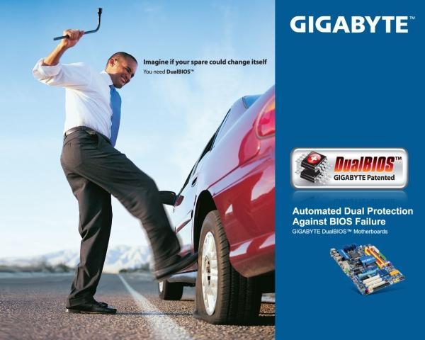 Gigabyte, Dual BIOS teknolojisini tüm anakartlarında kullanmaya başlıyor
