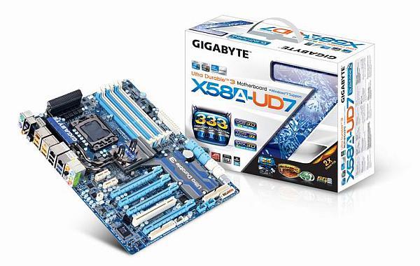 Gigabyte X58A-UD7: Su soğutmalı, USB 3.0 ve SATA-III destekli anakart