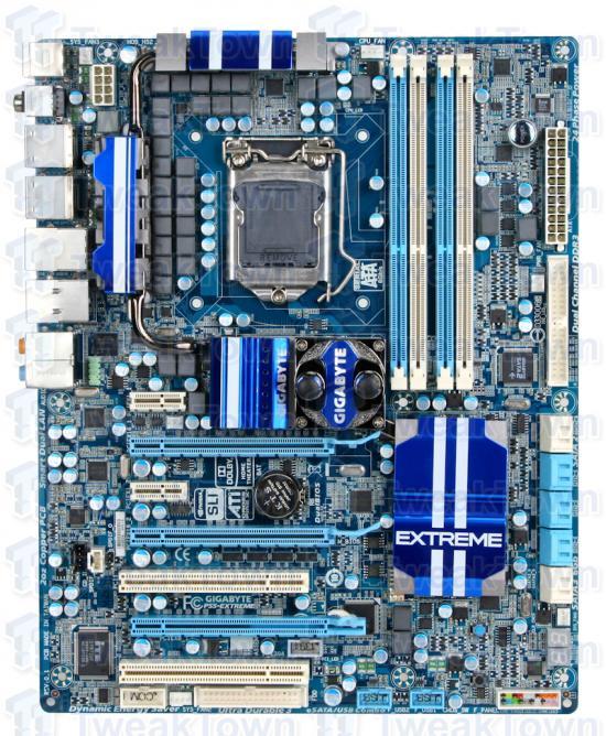 Gigabyte'dan oyunculara özel anakart: P55A-UD7