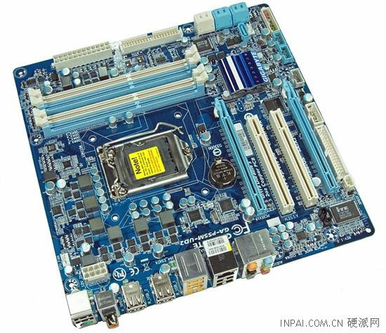 Gigabyte P55M-UD2; Core i5 / Core i7 işlemciler için maliyet odaklı anakart