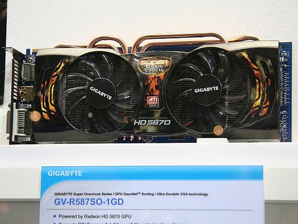 Gigabyte Radeon HD 5870 Super Overclock açığa çıktı