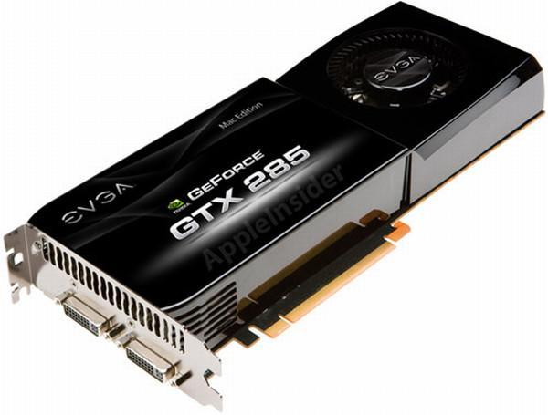GeForce GTX 285'in Mac Pro versiyonu geliyor