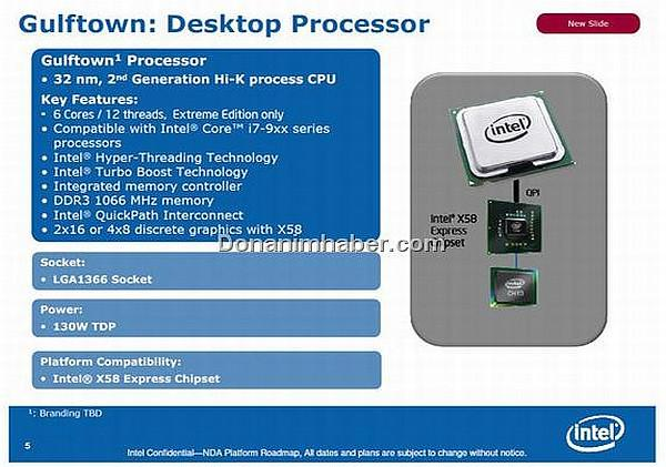 Intel'in 6 çekirdekli Core i9 (Gulftown) işlemcisi 6.4GHz'e çıkartıldı