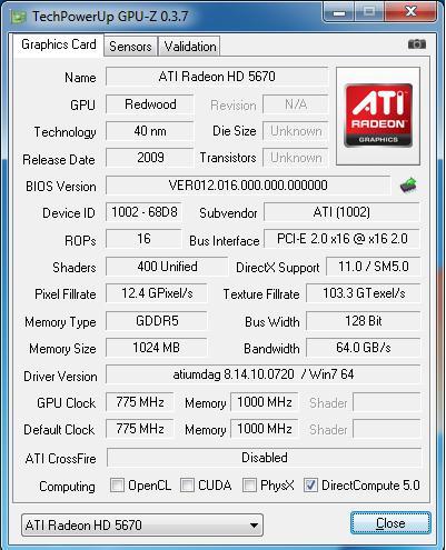 ATi Radeon HD 5670 gün ışığına çıktı