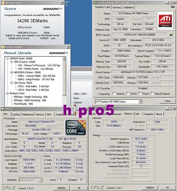 MSI Radeon HD 5870 Lightning ile 3DMark 2006 dünya rekoru el değiştirdi