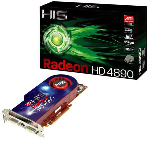 HIS, Radeon HD 4890 modelini duyurdu