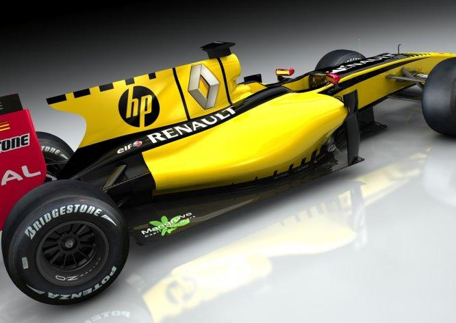 HP, Renault Formula 1 takımına sponsor oldu