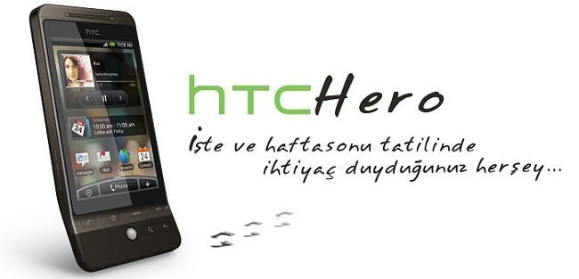 HTC Hero, Android 2.1'e Mart ayında kavuşuyor