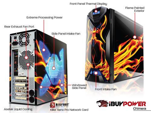 iBuyPower'dan tasarımıyla öne çıkan oyuncu bilgisayarı; Chimera Killer Special Edition PC