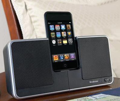 Brookstone'dan iki yeni iPod ses sistemi