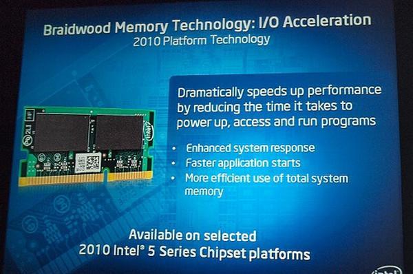 Intel Braidwood teknolojisi ile masaüstü PC'lerde SSD benzeri performans hedefliyor