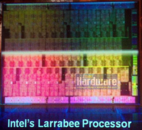 Intel Larrabee'nin ilk zar görüntüsü gün ışığına çıktı