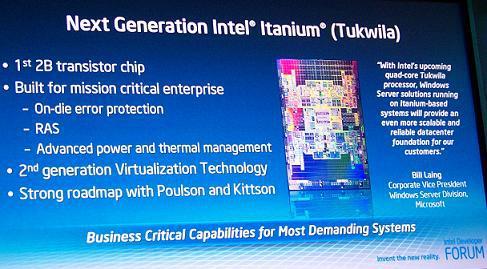 Microsoft, Intel'in Itanium işlemcilerine desteği sonlandırıyor