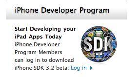 Apple, iPad için hazırlanan iPhone SDK 3.2'nin yeni sürümünü yayınladı