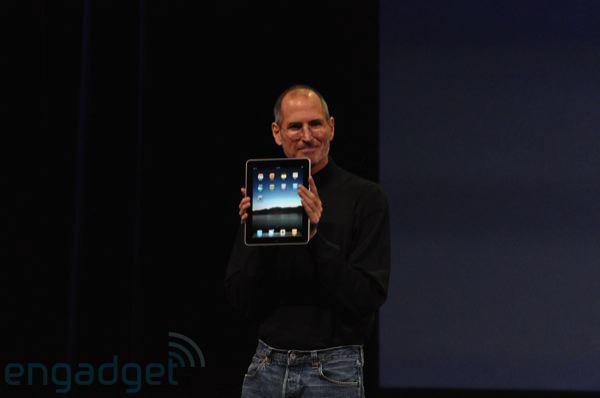 İşte Apple'ın tablet bilgisayarı: iPad