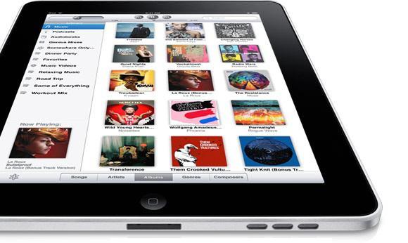 Apple: 1.Gün 300,000 iPad, 1 milyon uygulama ve 250,000 E-kitap satışı yapıldı