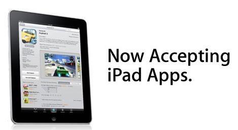 Apple, iPad AppStore için hazırlanan uygulamaları bekliyor