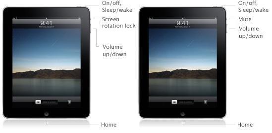 Apple, iPad'in bir tuşunun fonksiyonunda değişikliğe gitti