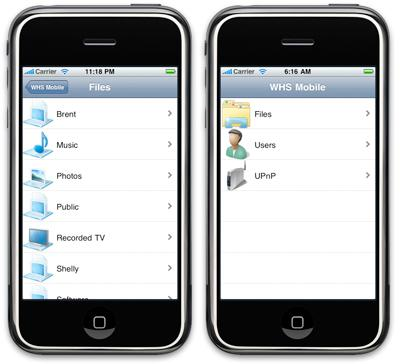 iPhone için hazırlanan Windows Home Server uygulaması yolda