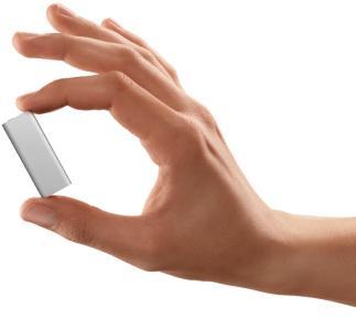 En küçük iPod; Shuffle yenilendi