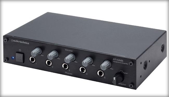 Audio Technica, yeni kulaklık amfisi AT-HA65'i tanıttı