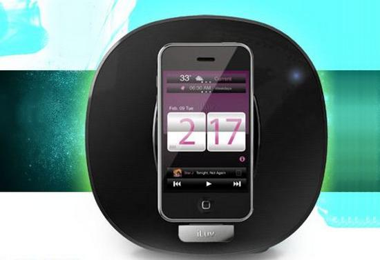 iLuv'un iPod Dock hoparlörü App Station iMM190 piyasaya çıktı