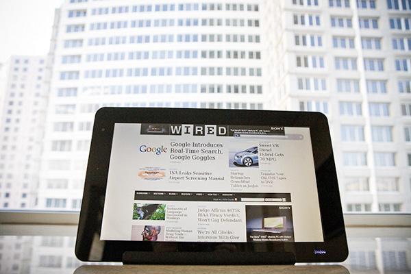 iPad'in en önemli rakiplerinden JooJoo Tablet'in satışı 29 Mart'ta başlıyor