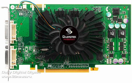 Leadtek düşük güç tüketimli GeForce 9800GT modelini duyurdu