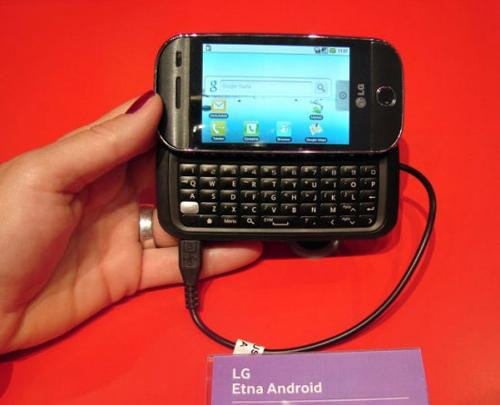 LG Etna Android IFA'da ortaya çıktı