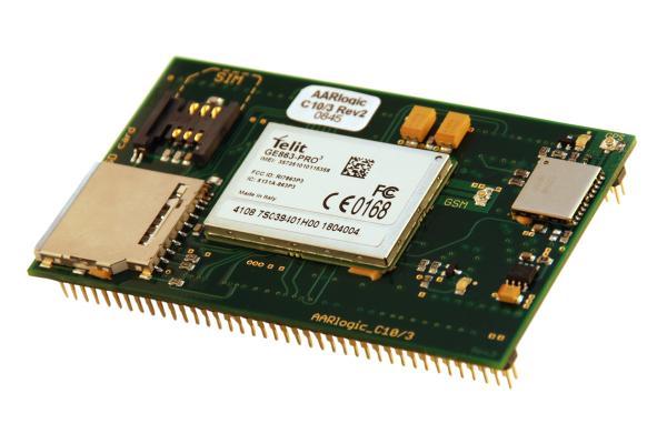Kibrit kutusu büyüklüğünde Linux PC; AarLogic C10/3