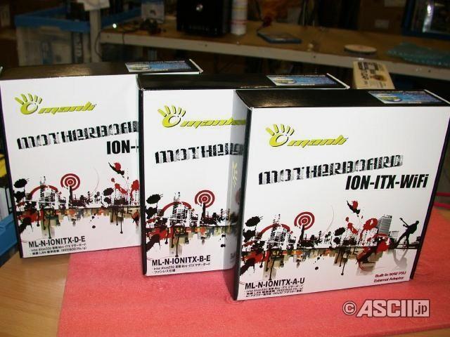 Manli, Nvidia ION tabanlı Mini-ITX anakartlarını satışa sundu