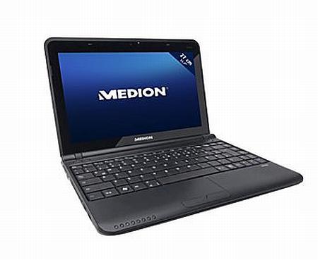 Medion AMD tabanlı yeni netbook modelini satışa sundu