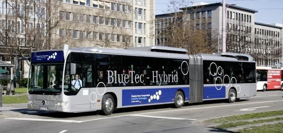 Mercedes-Benz Citaro aG BlueTec; Dünyanın en büyük lityum piline sahip otobüsü
