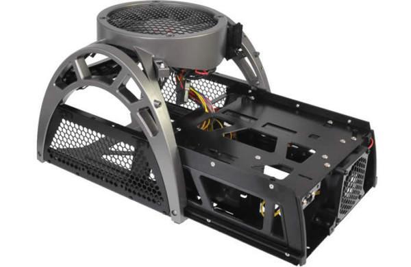 Antec'den profesyoneller için yeni kasa; Mini Skeleton 90