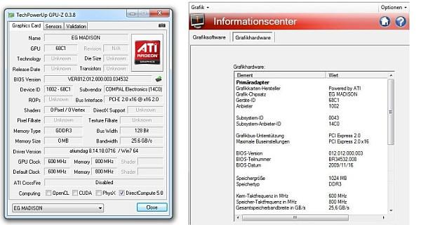 ATi Mobility Radeon HD 5650; DirectX 11 destekli mobil GPU test edildi