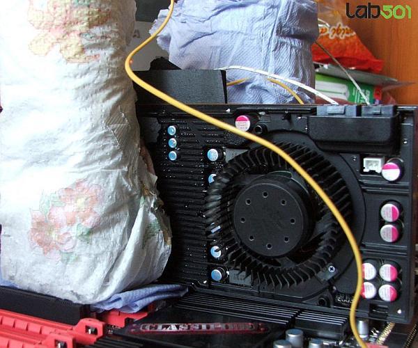 GeForce GTX 480, Sıvı Azot ile tanıştı: 900/4200MHz'de ilk test sonucu