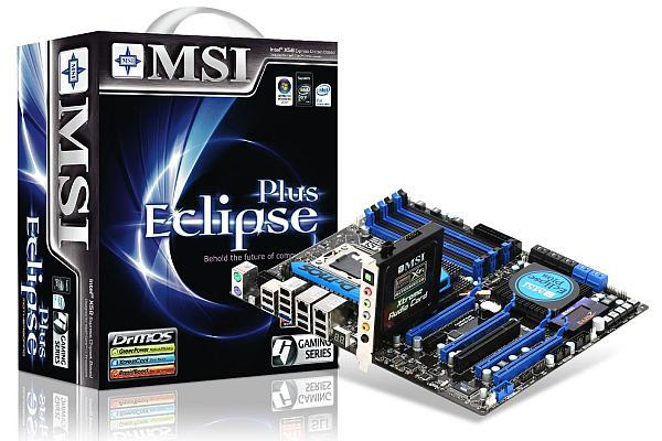 MSI 6 çekirdekli işlemci desteği sunan X58 anakartlarını açıkladı