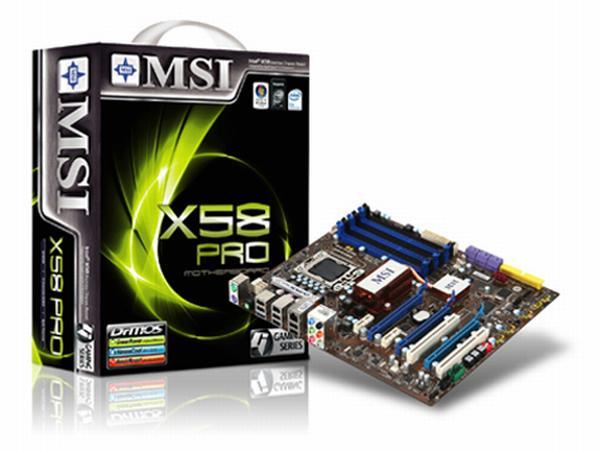 MSI, X58 yonga setli anakartlarının tamamında SLI desteği sunmaya başladı