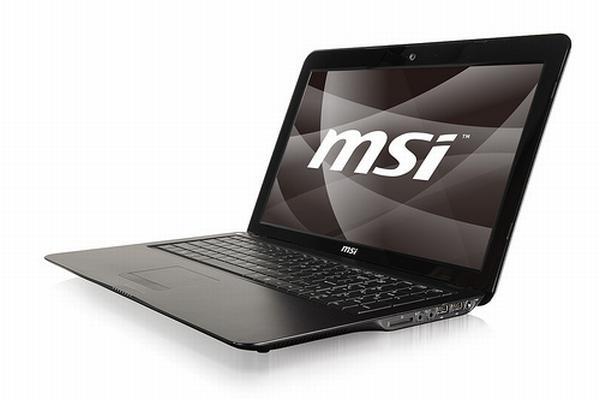 MSI ultra-ince dizüstü bilgisayarı X600'e çift çekirdekli işlemci takviyesi yaptı
