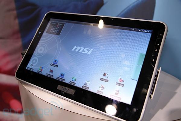 MSI, Nvidia Tegra 2 tabanlı tablet bilgisayarını ikinci yarıda pazara sunacak