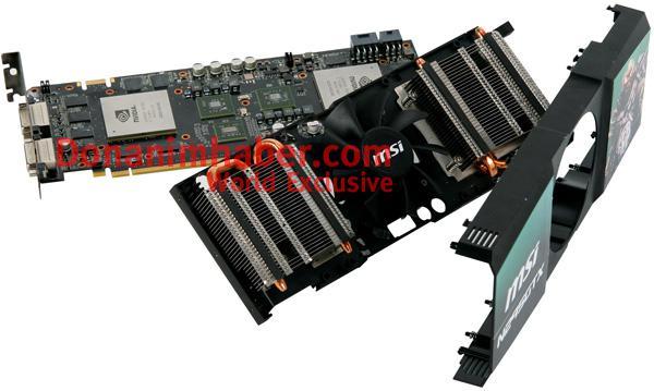 MSI'ın tek PCB'li GTX 295 modeli göründü