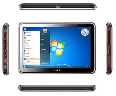 9 inçlik slate (tablet) bilgisayar 'Nav 9' satışa sunuldu