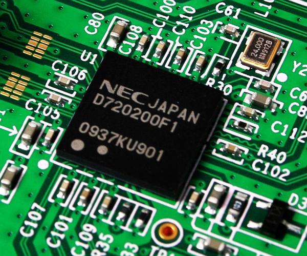 NEC USB 3.0 host kontrolcüsü için üretime hız veriyor
