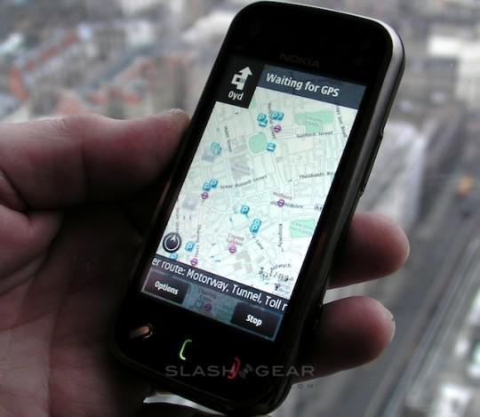 Ücretsiz Navigasyonlu Ovi Maps artık N97'i de destekliyor
